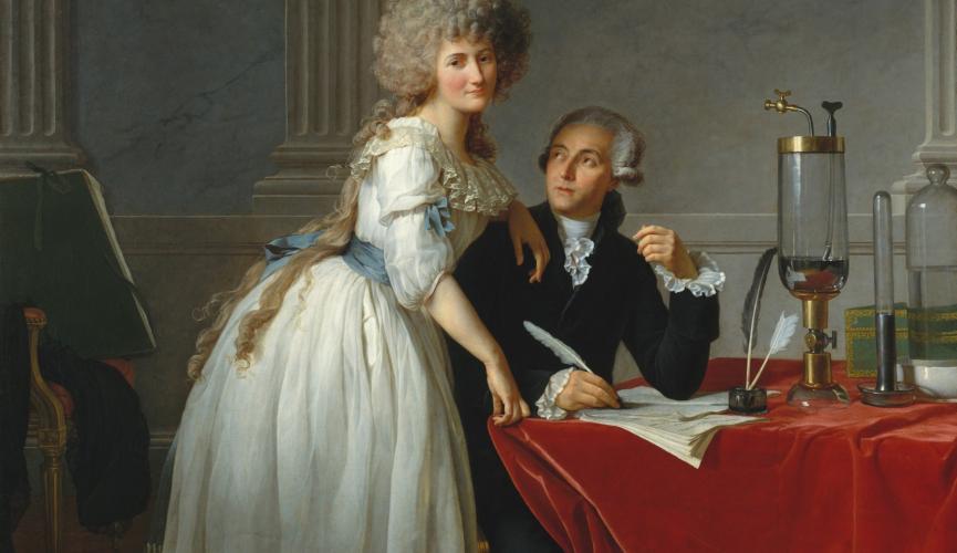 glezna no francu revolucijas laika
